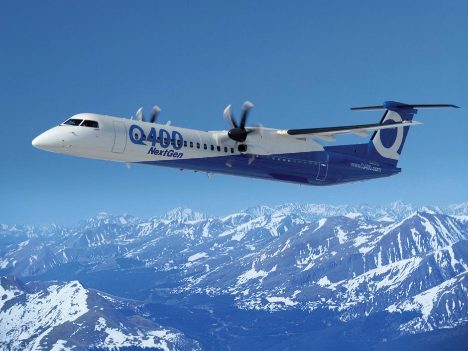 q400 - Серия турбовинтовых самолетов  Q400 больше не принадлежит концерну Bombardier