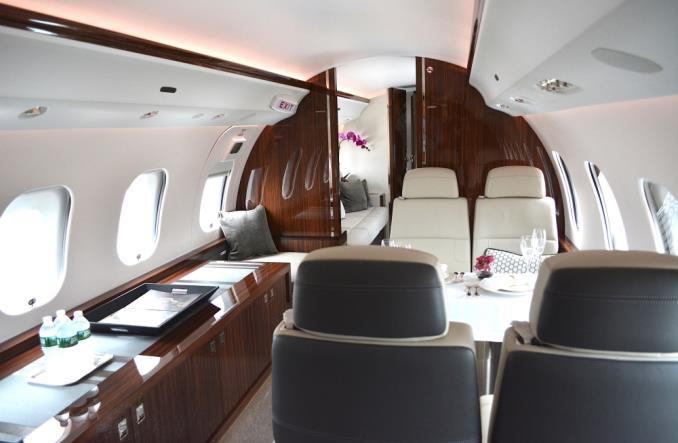 salon - Bombardier Global 7500 готов к эксплуатации