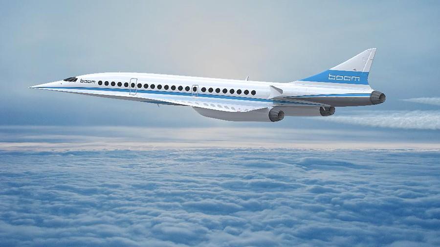 sverhzvukovoj lajner boom src - Сверхзвуковые пассажирские самолёты – вчера, сегодня, завтра