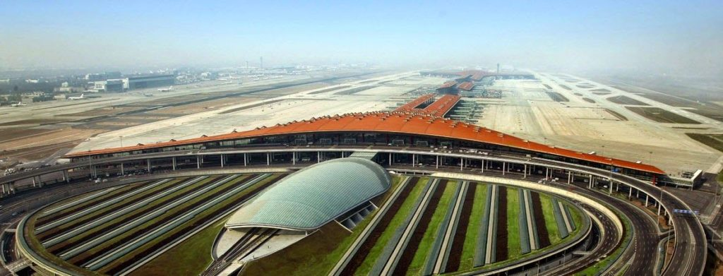 0536c495fae4004101f239eae1597525 1024x391 - Новый аэропорт в Пекине