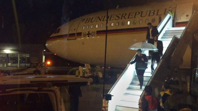 104562380 050899638 1 - Злоключения Фрау Меркель в пути на саммит  G20 - у  самолета отказали системы связи