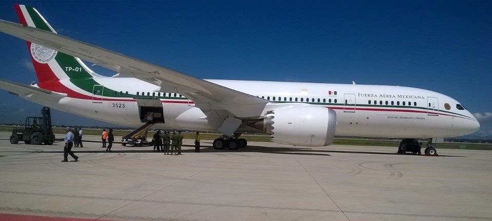 1374104 829870683710506 8529191370121617188 n - VIP-версия Boeing 787-8 Dreamliner  мексиканского президента выставлена на продажу