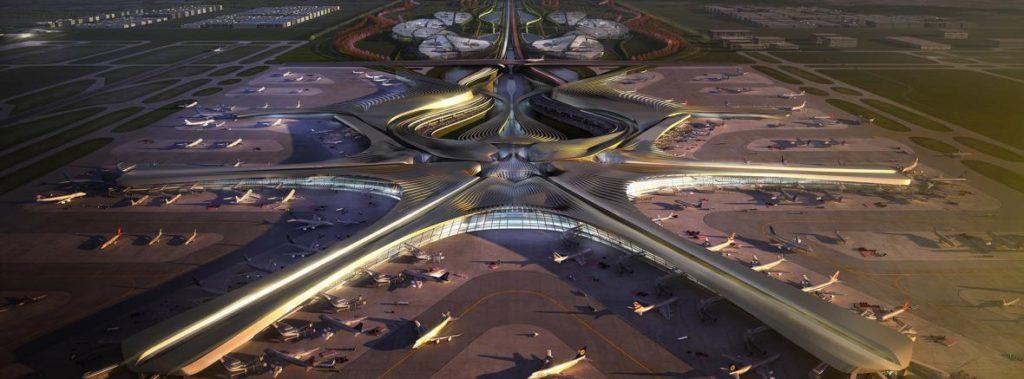 163 4034736 zha consortium 13 lr 1024x379 - Новый аэропорт в Пекине