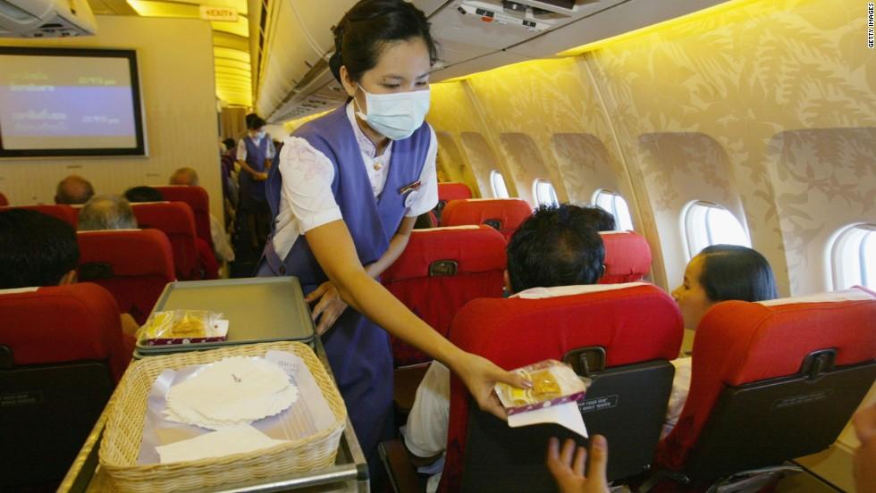 47 1 - Выяснилось, где больше всего микробов в самолетах