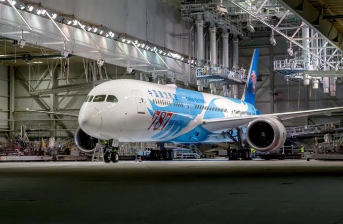 787-ой Boeing787 для ChinaSouthern