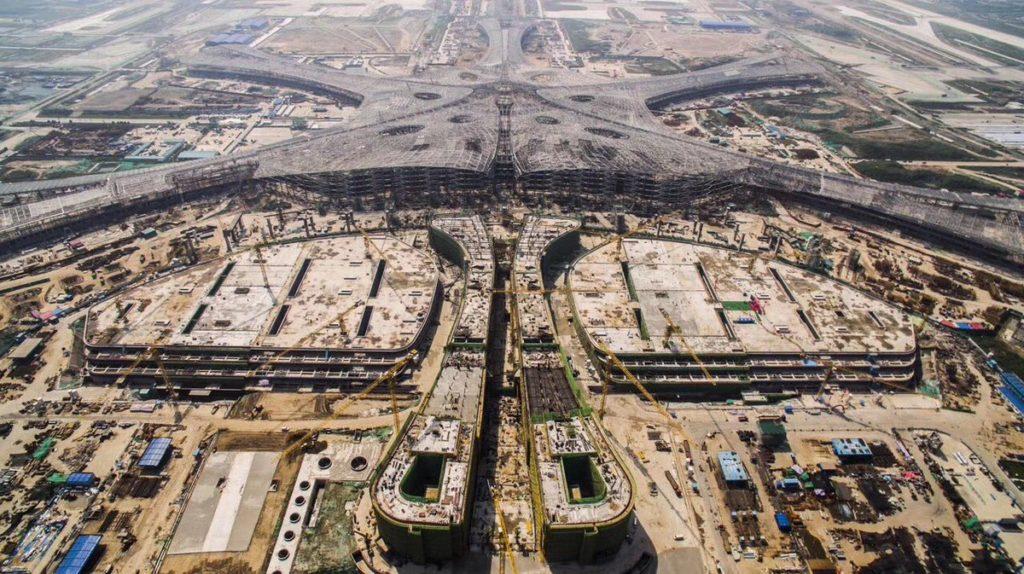 DId5aiyVoAIWYiL 1024x574 - Новый аэропорт в Пекине