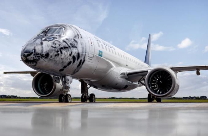 """E190E2AirAstana - Air Astana получила первого """"охотника за прибылью"""""""