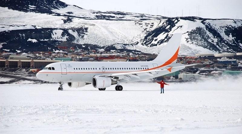 ays ranvey 1 - Аэропорт Айс Ранвей (США, Антарктида): лётная полоса для тяжёлых самолетов