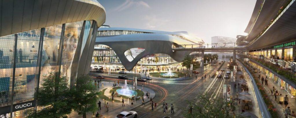 hong kong intl airport skycity mall 1024x410 - Будущее аэропортов: как прошёл Travel Forum в Гонконге?