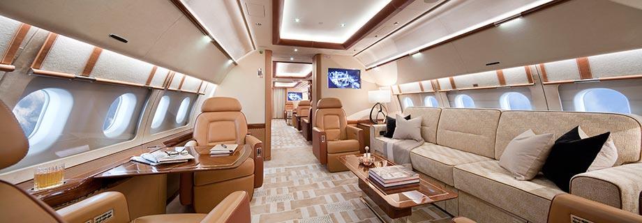 Салон ACJ319 для Acropolis Aviation
