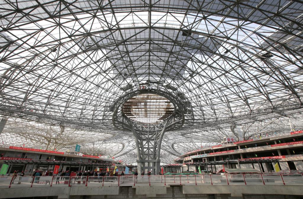 rts1gm9p 1024x674 - Новый аэропорт в Пекине