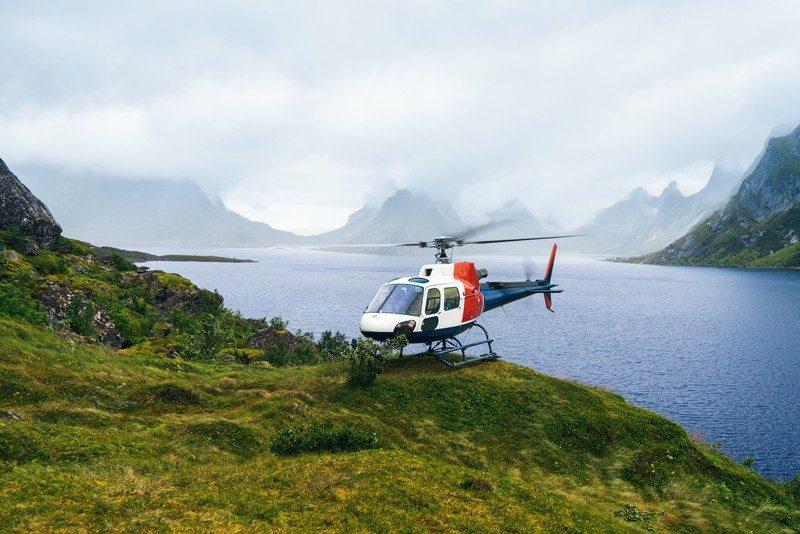 аренда вертолёта в Норвегии