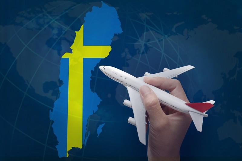 аренда самолёта в Швеции