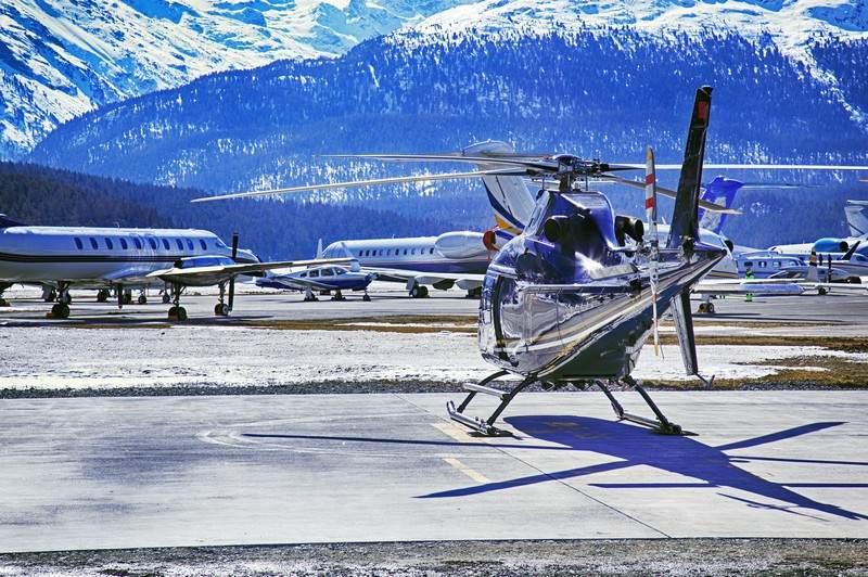заказать самолёт в Швейцарии