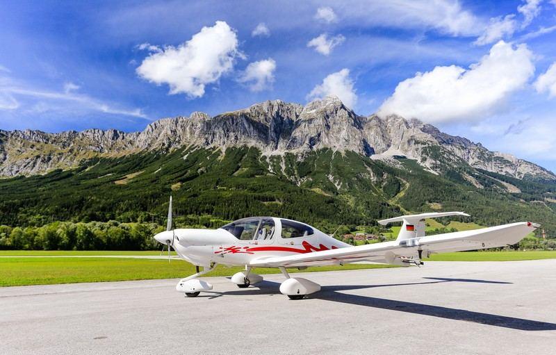 чартер самолёта в Австрии