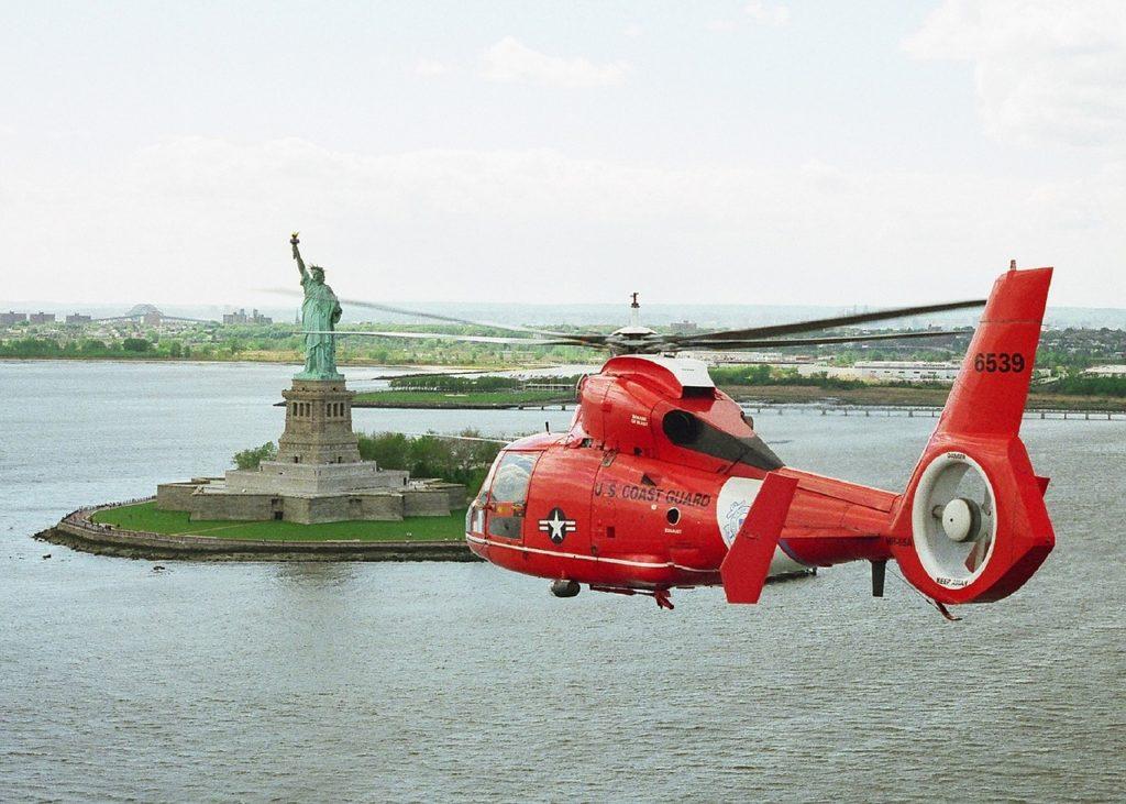 Вертолет в Нью-Йорке