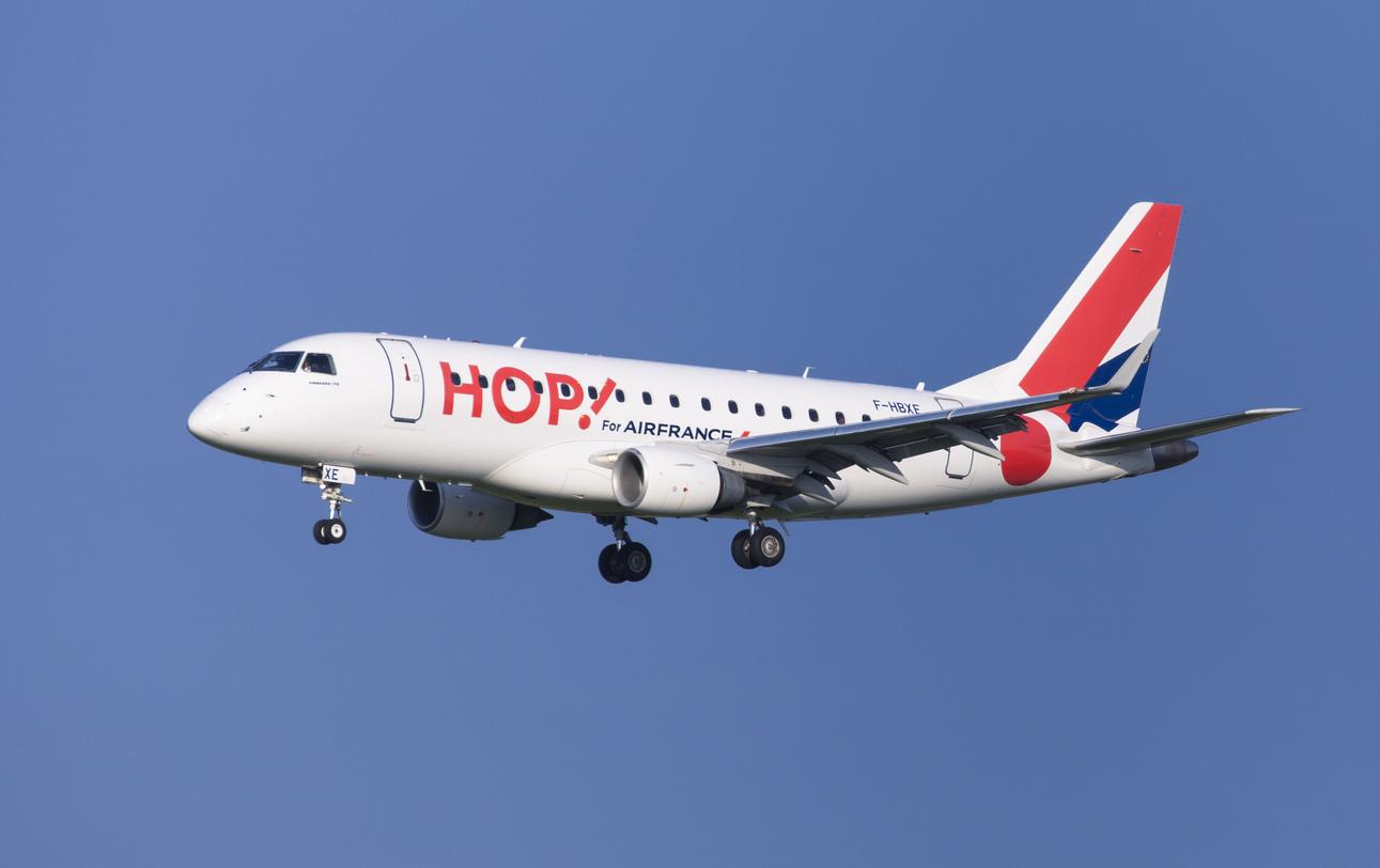 hop - Air France проведет ребрендинг дочерней авиакомпании HOP!