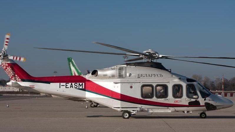 Новый вертолет президента Белоруссии А.Лукашенко