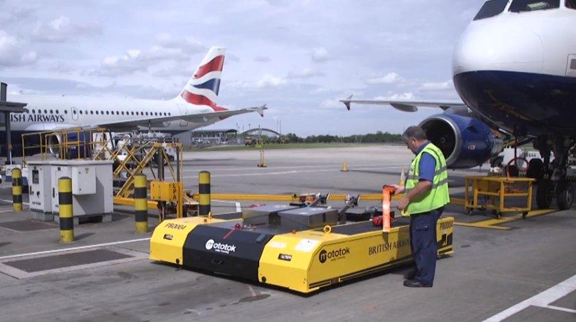 British Airways Pushes New Technology In Aviation First - British Airways внедряет новые технологии