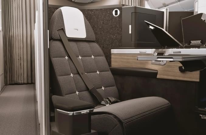 britishairwaysbiz - British Airways создала новый салон бизнес-класса для  A350-1000
