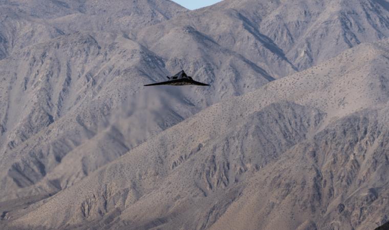 Самолет-призрак Nighthawk F-117
