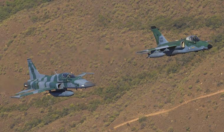 Бразильские Gripen NG