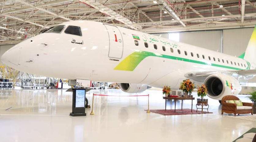 Embraer поставил первый E175 авиакомпании Mauritania