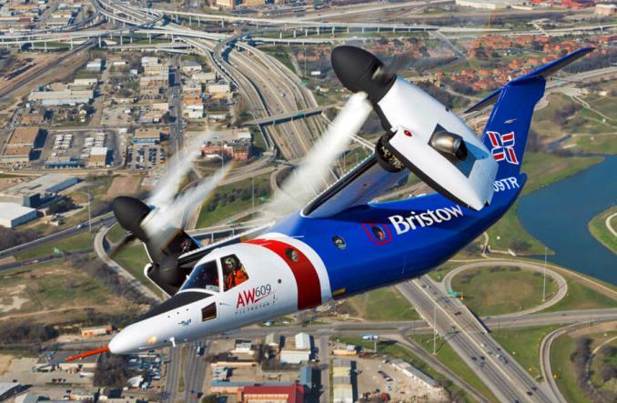 Итальянский Leonardo Helicopters начал в США производство гражданских конвертопланов