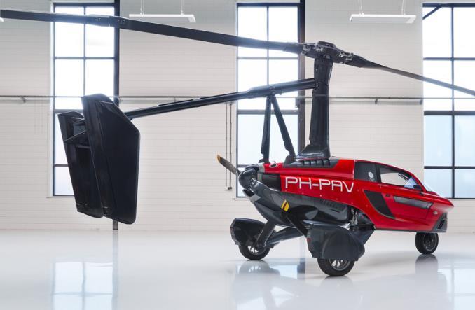 Первые летающие автомобили поступили в продажу