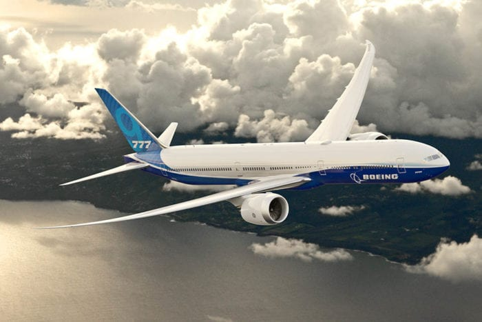 1 7 - FAA поставила специальные условия для топливного бака Boeing 777X