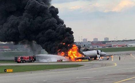 3092107 - Сухая реакция на человеческие жертвы самолета Sukhoi в Шерметьево