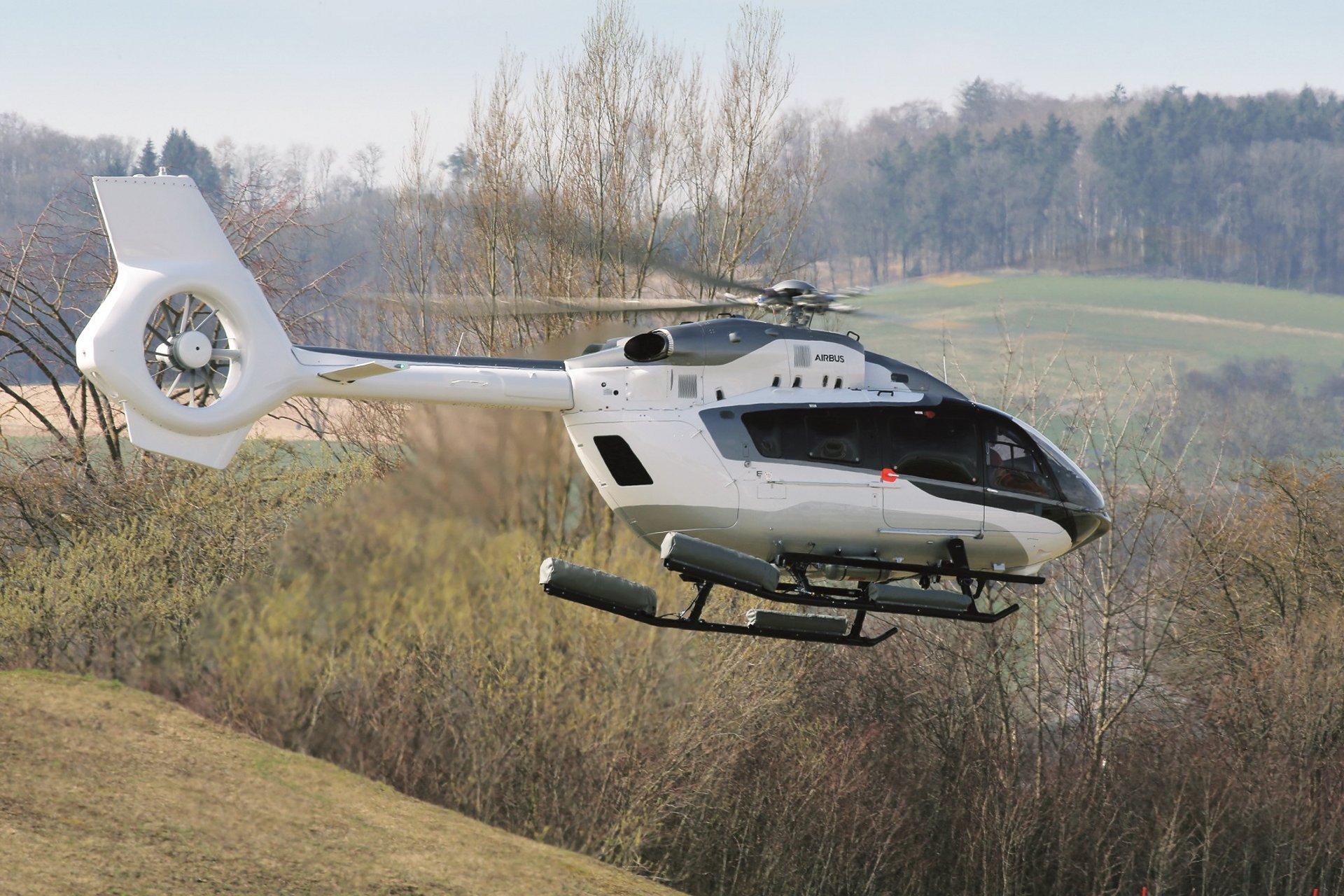 Новые вертолеты для Luviair