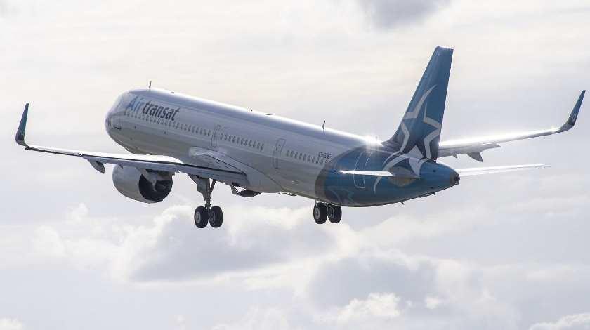 Air Transat получил свой первый A321LR