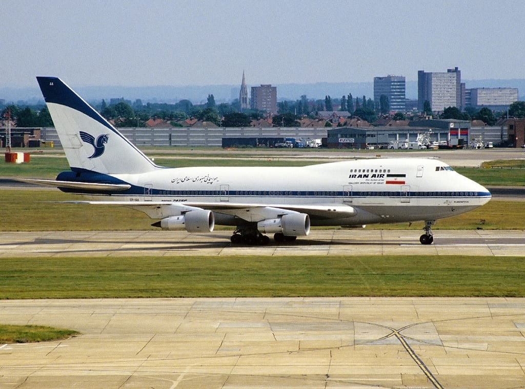 Boeing 747SP 86 Iran Air AN1094846 1024x760 - Самый маленький в мире 747: Boeing 747SP