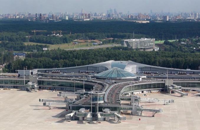Moskwa - Апрельские результаты  аэропорта Шереметьево