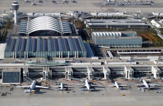 Аэропорт Мюнхена в первом квартале этого года вновь зафиксировал спад пассажиропотока