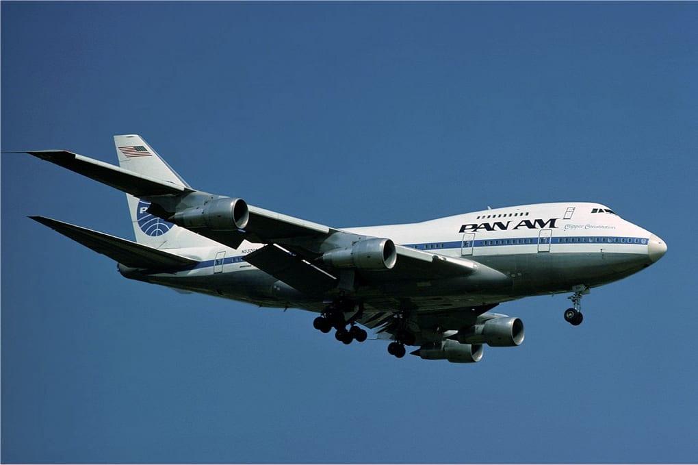 Pan Am Boeing 747SP 2 - Самый маленький в мире 747: Boeing 747SP
