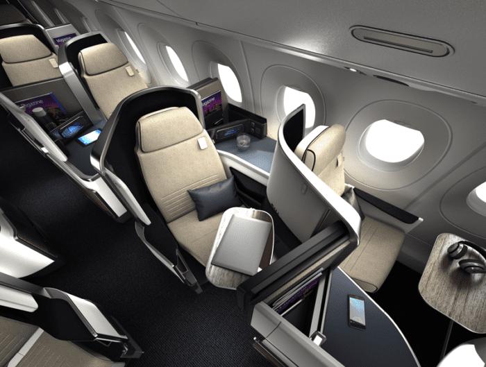 Safran Seats A350 AF Business Class 700x529 - Все, что нужно знать о новом A350 Air France