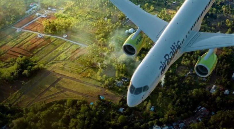 airBaltic будет совершать совместные рейсы с SAS
