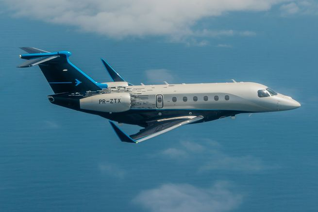 embraer praetor - Praetor Embraer получает сертификаты типа FAA и EASA