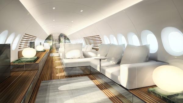 Lufthansa Technik AG предложила концепцию салона для Airbus A220