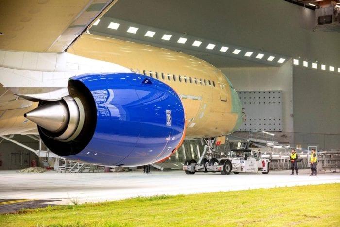 2 2 - Первый Airbus A350 для British Airways приближается к завершению