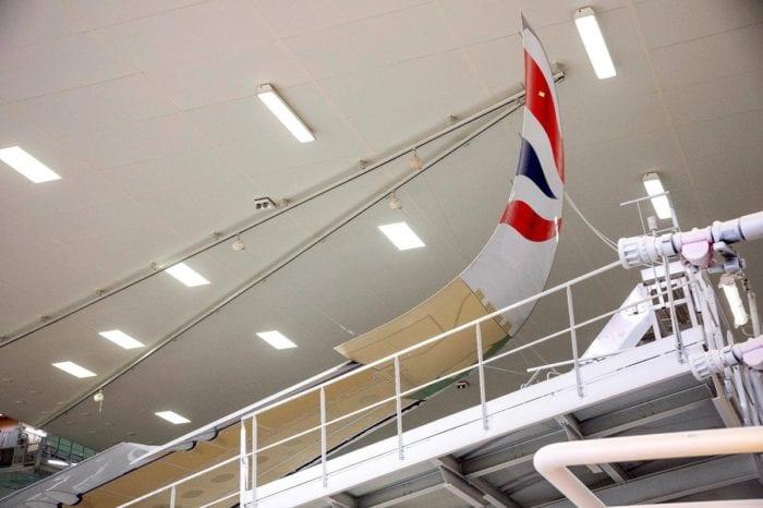 3 2 - Первый Airbus A350 для British Airways приближается к завершению