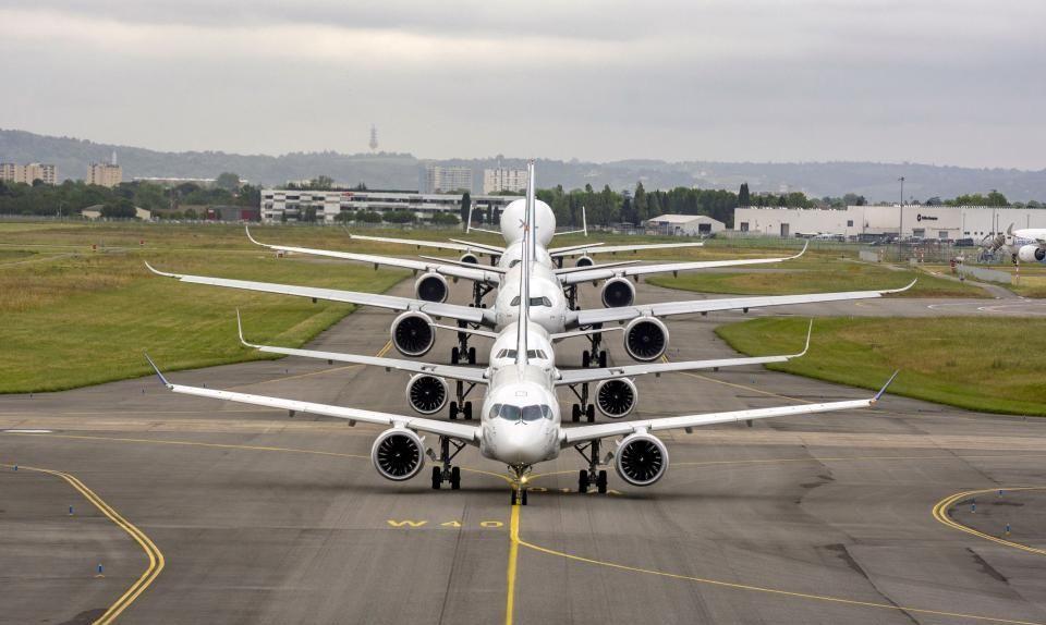 Boeing Airbus - Airbus ищет поддержки авиакомпаний в торговом споре с Boeing