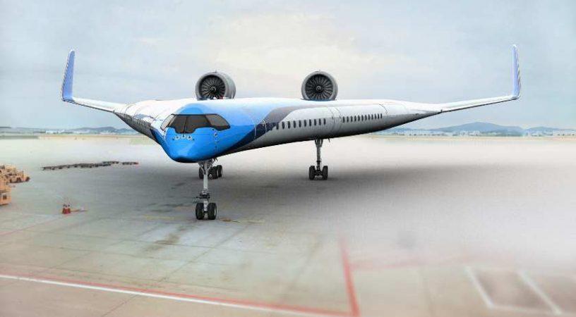 Радикально новый самолет Flying-V