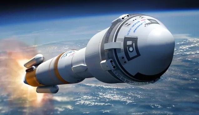 Starliner - Испытания двигателей космического корабля «Starliner» прошли успешно
