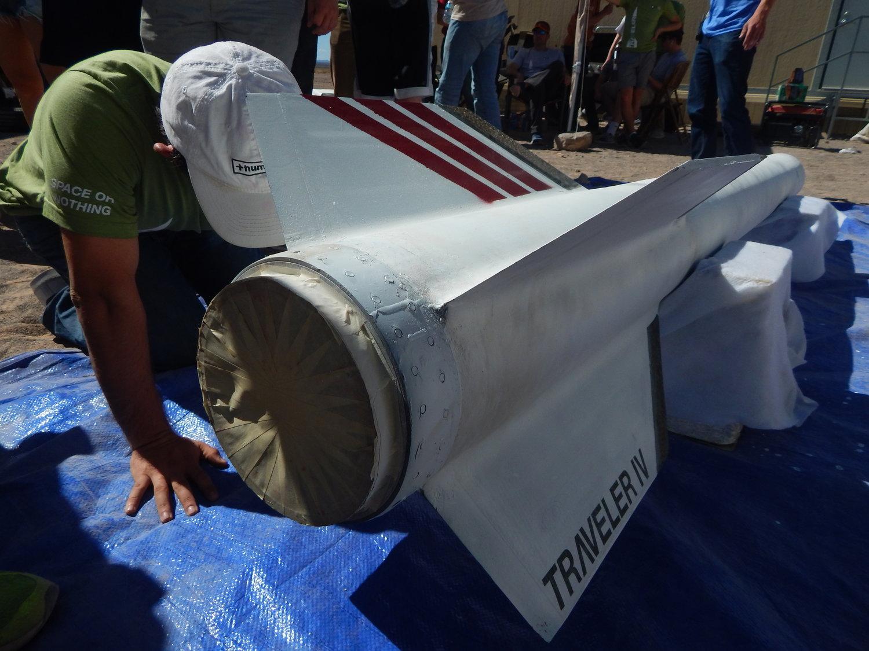 T4fins - Американские студенты запустили в космос ракету
