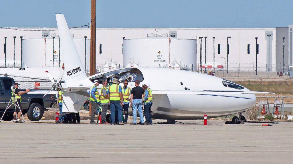celera 1024x576 - В сети появились последние снимки таинственного делового самолета, который может взорвать рынок
