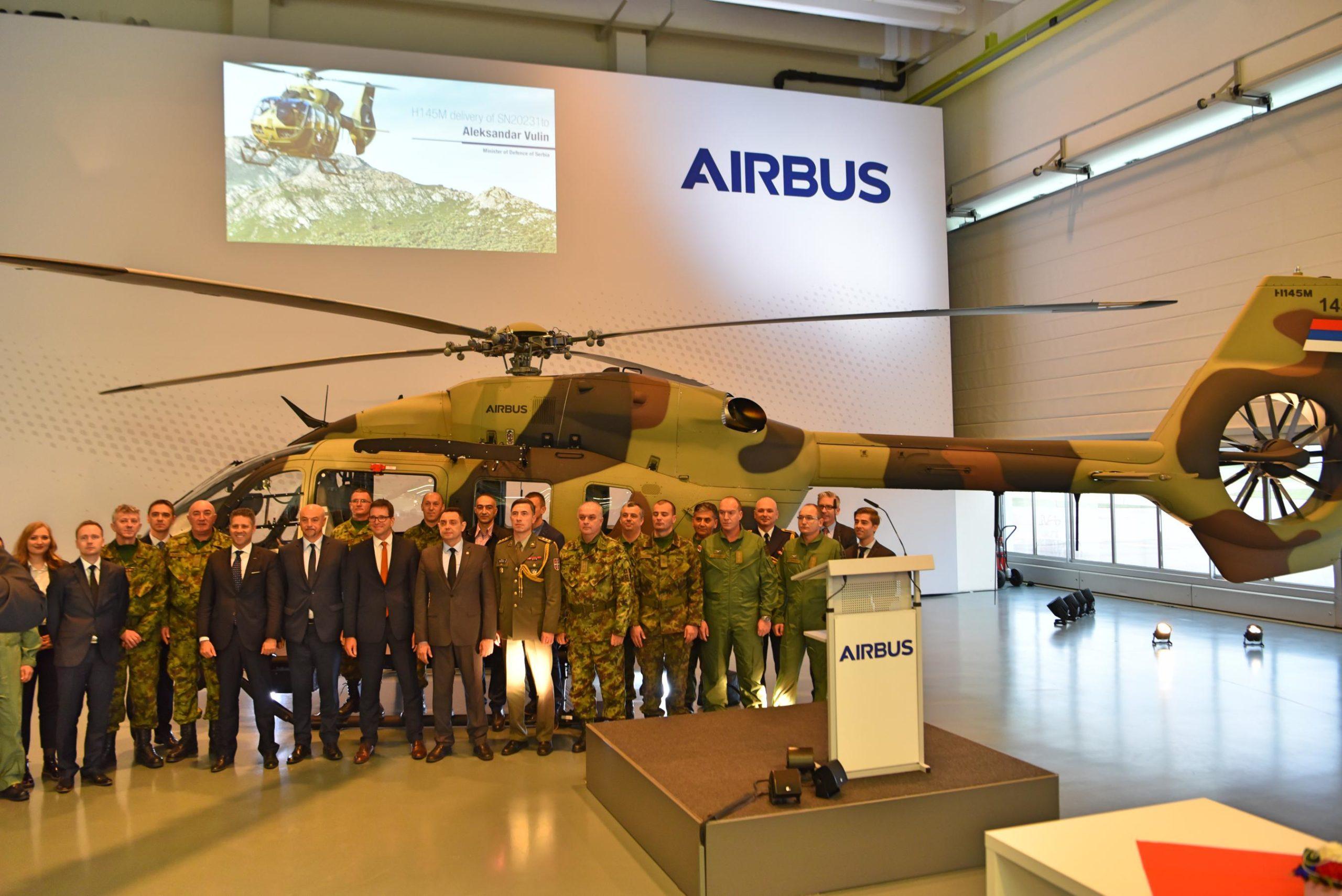 Сербия и Airbus Helicopters развивают партнерство