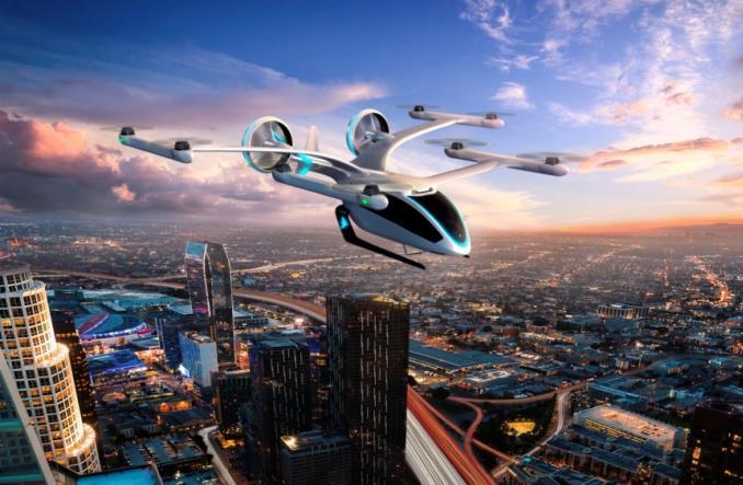 embraerX2 - EmbraerX предложил новую  концепцию летающего транспортного средства